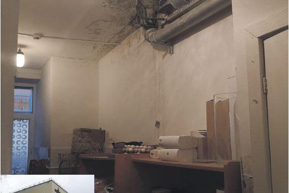 Apgaulingai gražus įstaigos fasadas slepia prakiurusius vamzdynus.