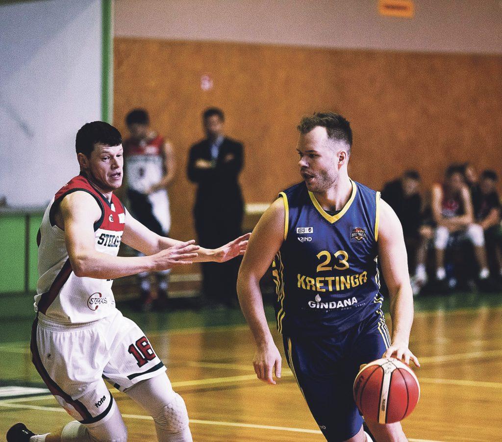 Kretingiškis Rokas Šimkevičius pasiekė rekordą – per vienerias rungtynes žaidė 59 minutes ir 22 sekundes.