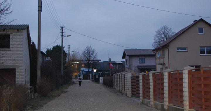 Šios Nidos gatvės dalies rekonstrukcija kol kas nenumatyta.