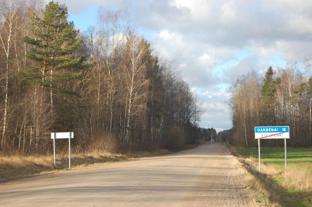 Kelio Kūlupėnai–Darbėnai atnaujinimo laukta daugiau nei dešimt metų. Editos Dargienės nuotr.