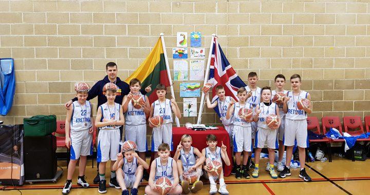 Kretingos sporto mokyklos auklėtiniai tapo tarptautinio turnyro Londone nugalėtojais.