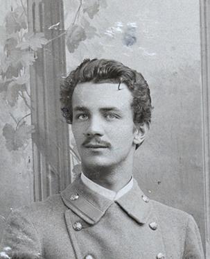 Studentas Vladas Mongirdas. Nacionalinis M. K. Čiurlionio dailės muziejus.
