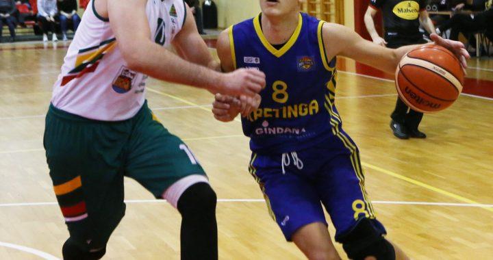 Tik 5 taškus pelnęs Kornelijus Stonkus (Nr. 8) Ukmergėje sužaidė ne pačias geriausias rungtynes.