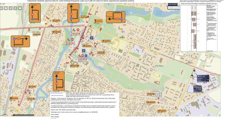 Eismo organizavimo schemą pateikusių rangovų teigimu, visose rekonstruojamos Vilniaus gatvės atkarpose bus dirbama vienu metu ir maksimaliu pajėgumu.