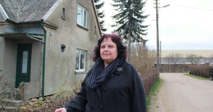 Dėl savo gatvės ateities Valerijai Žalienei teko įrodinėti buvusiems kolegoms – rajono Tarybos nariams.