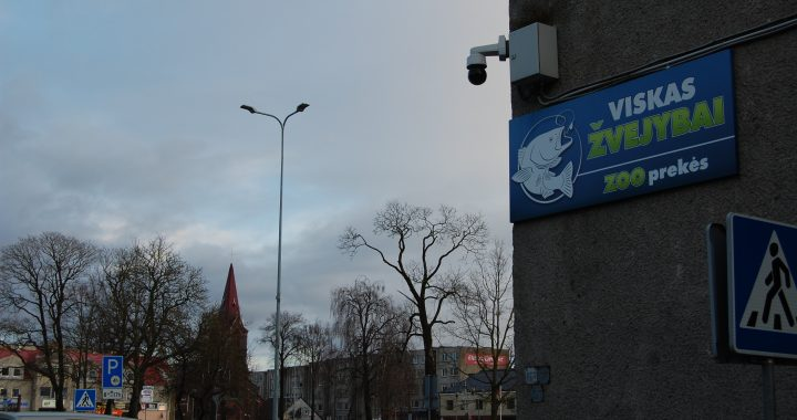 Kretingos mieste ir rajone viešąsias erdves filmuoja 15 vaizdo kamerų.