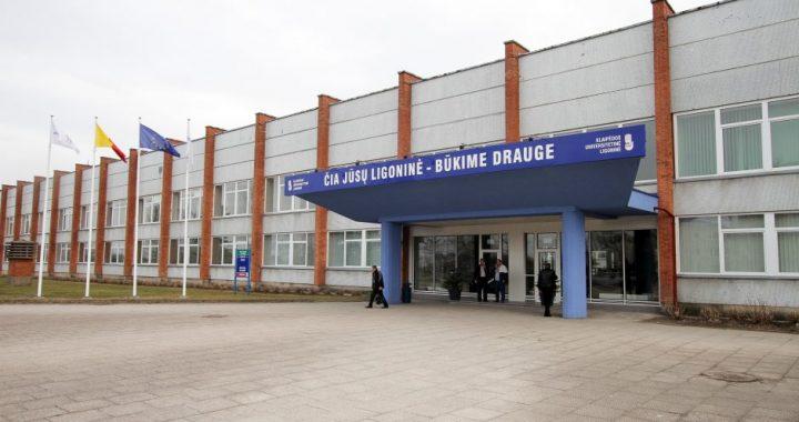 Priimti užsikrėtusiuosius koronavirusu pasirengusi Klaipėdos universitetinė ligoninė.