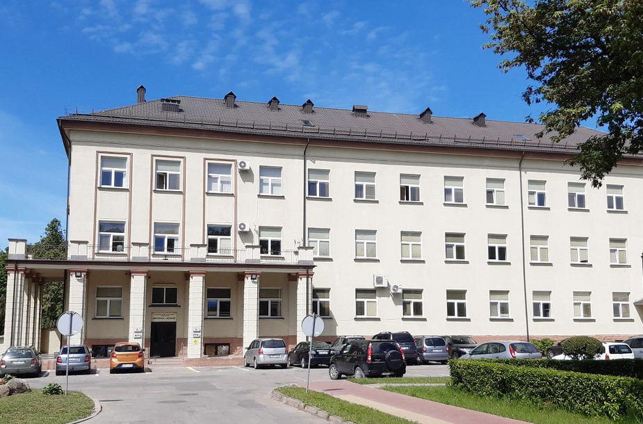 Šiandien koronavirusas COVID-19 nustatytas Kretingos ligoninės pacientei. Kretingos rajono savivaldybės nuotr.