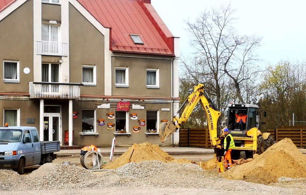 370 tūkst. eurų iš Vyriausybės Kretingai skirtos paramos padengs ir dalį Savivaldybės finansinės naštos dėl Vilniaus g. rekonstrukcijos.