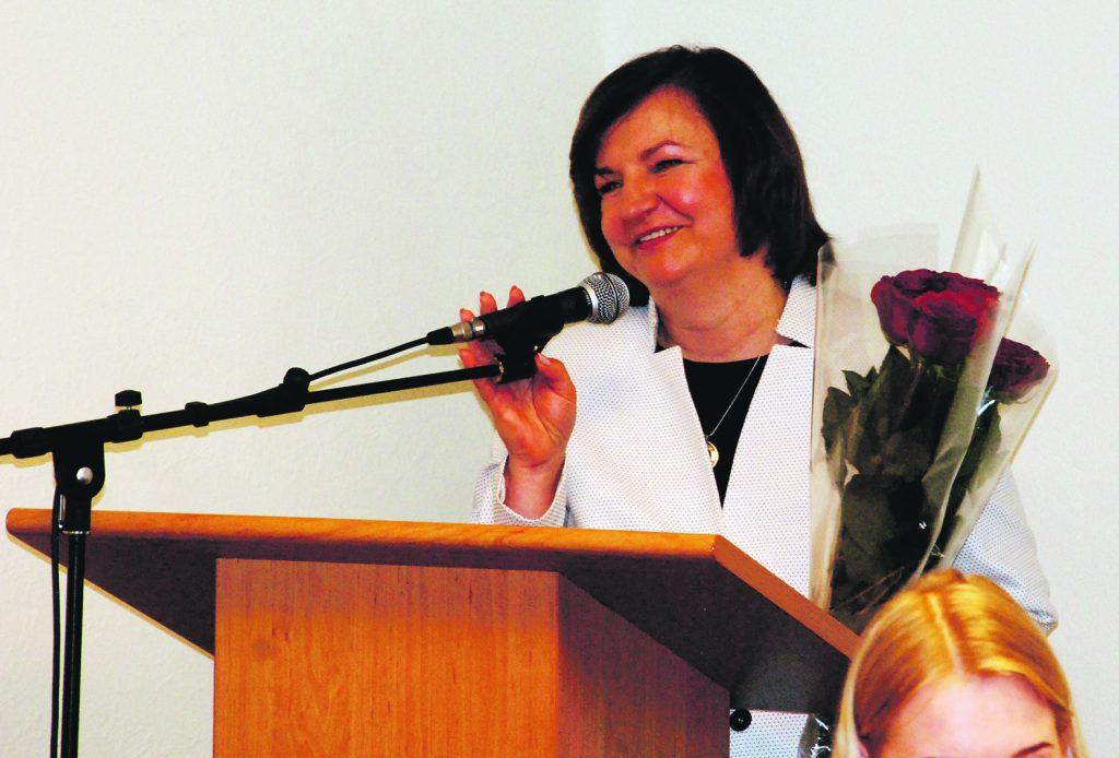 Lygiai prieš metus, prisiekdama tarybai Jolanta Girdvainė žadėjo darbui atsiduoti visa širdimi.