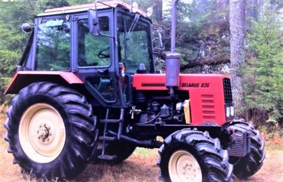 """Pnektadienį Anužių kaime policija sustabdė girtą traktoriaus """"Belarus"""" vairuotoją. Asociatyvi nuotr."""