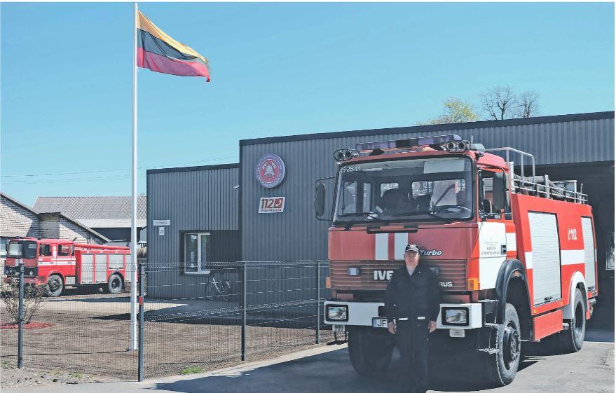 Galingoji pagrindinė gelbėtojų trasporto priemonė. Andriaus Juškevičiaus nuotr.