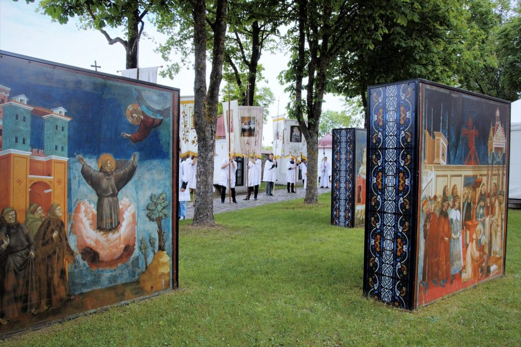 Šeštadienį Kretingoje įvyko tradiciniai švento Antano atlaidai.