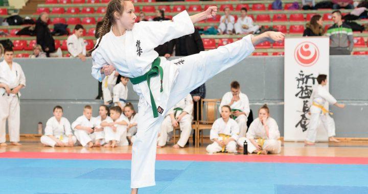 Viena iš keturių čempionų, Kretingai parvežusių auksą - Greta Intaitė. Algirdo Dėringio nuotr.