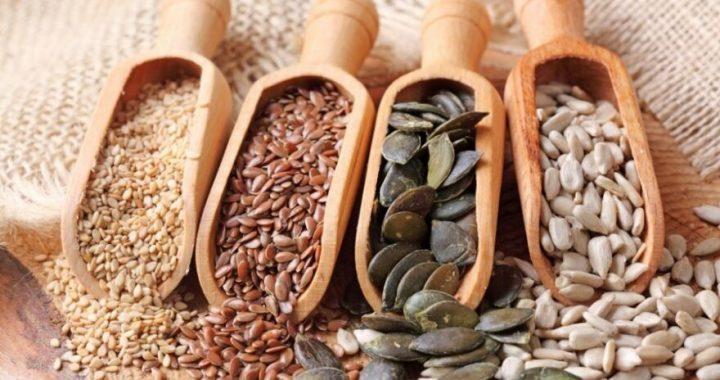 Sėklos – ne tik vertingų maistingųjų medžiagų koncentratas, bet ir puikus skaidulų šaltinis. © Shutterstock nuotr.