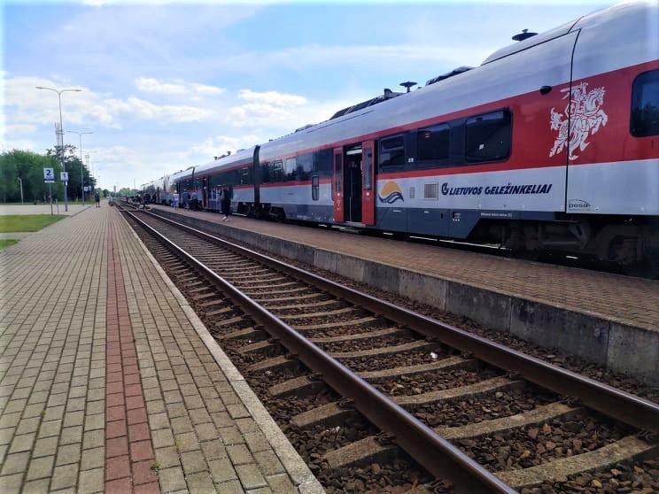 Kalbos apie geležinkelio pratęsimą iki pat Palangos pasigirsta ne pirmą kartą, bet šį kartą - gal rimtai? Autorės nuotr.