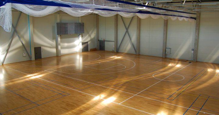 Teismas aiškinasi, ar sporto komplekse sumontuoti šviestuvai iš tikrųjų priklauso Kretingos rajono savivaldybei. Autorės nuotr.