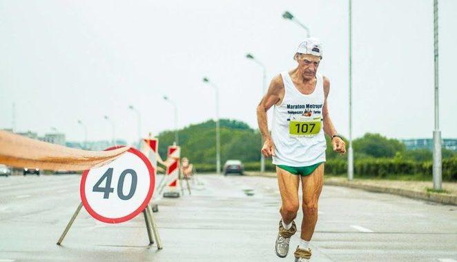 """Petras Silkinas. """"Citadele Kauno maratonas"""" nuotr."""
