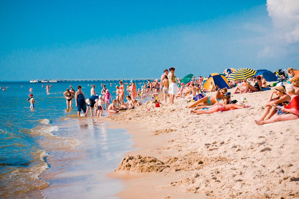 Karklės pliaže trečiadienio rytą sulaikytas apsinuoginęs vyriškis. Asociatyvi nuotr.