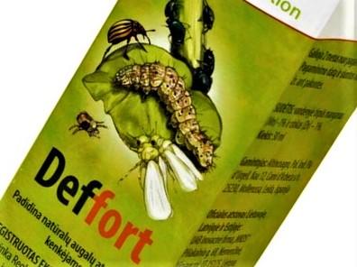 """Šis trešiamasis produktas """"Deffort"""" šalinamas iš Lietuvos rinkos, kaip neatitinkantis ES keliamų standartų."""