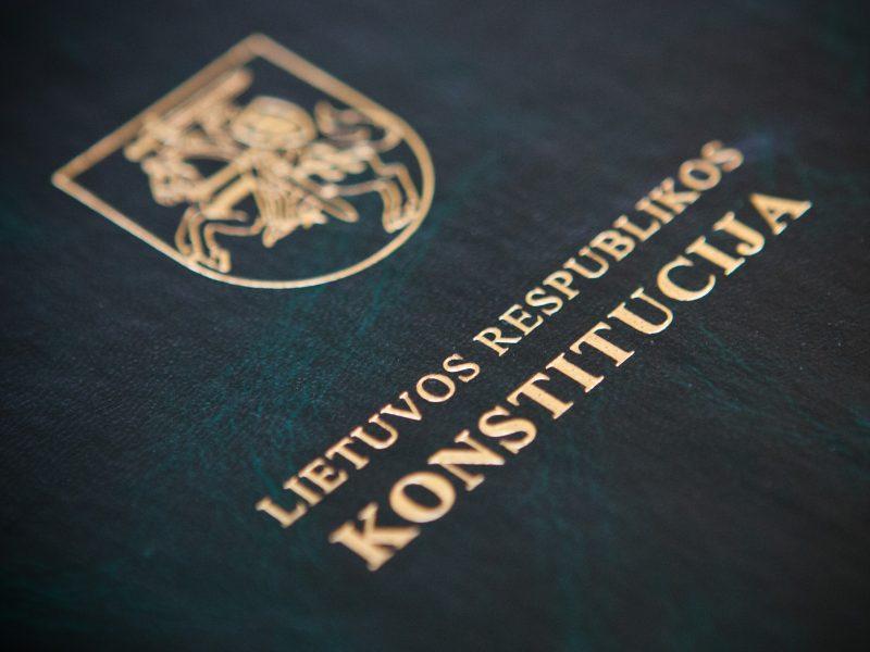 lietuvos konstitucija