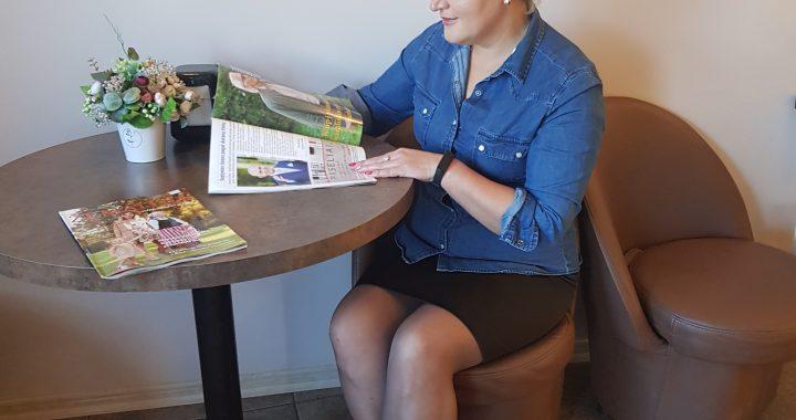"""Naująjį """"Švyturio"""" žurnalą """"Žemaitija vakar, šiandien ir rytoj"""" galima rasti ir viešose vietose Salantuose."""