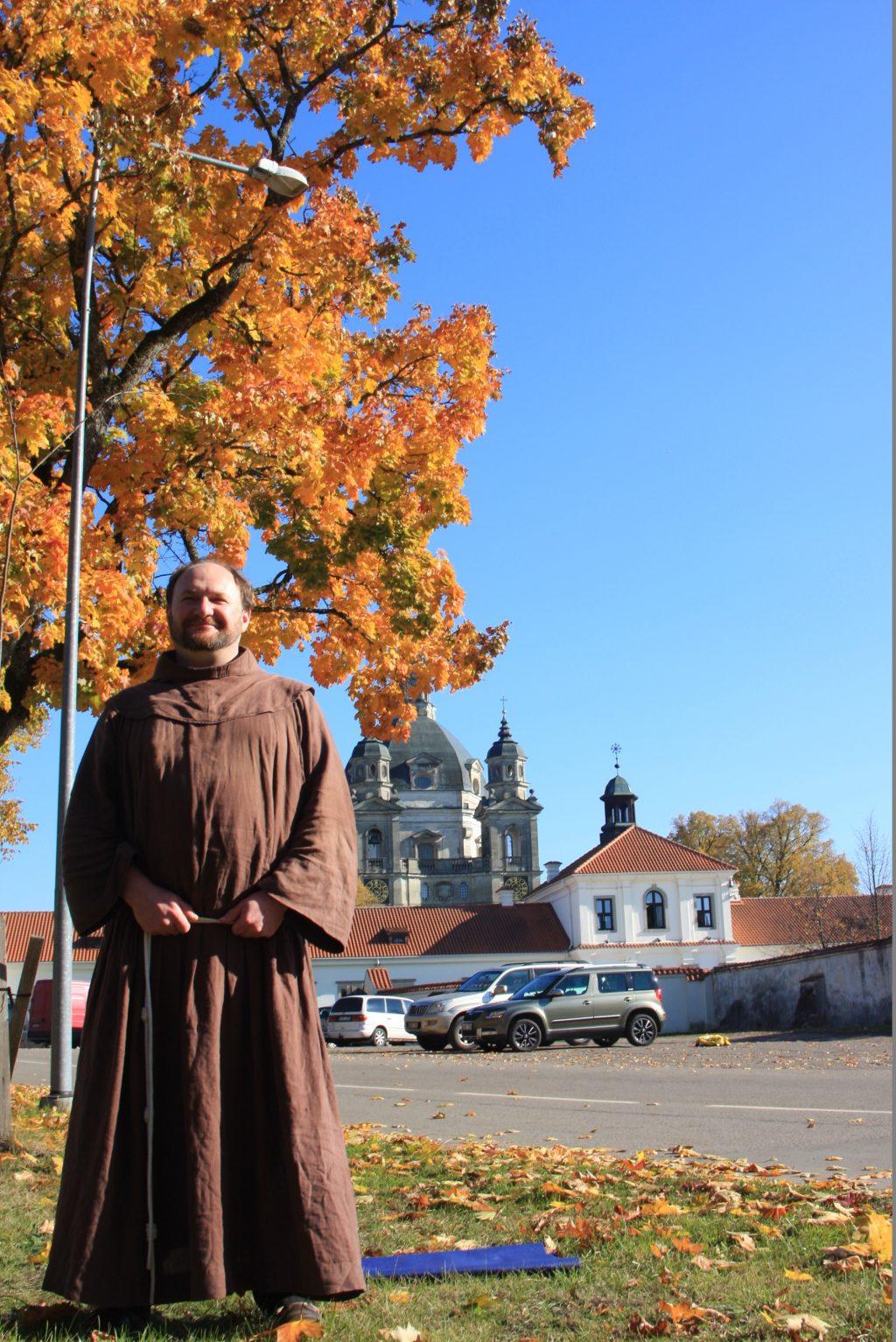Juozapas Marija Žukauskas Kretingos parapijai vadovauja nuo rugsėjo.
