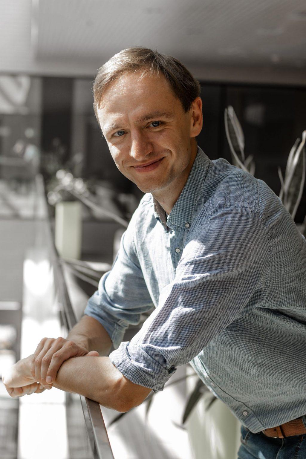 Sveitimo inovatorius Lukas Benevicius