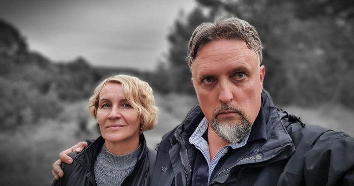 Andrius Miežis kartu su žmona Lolita.