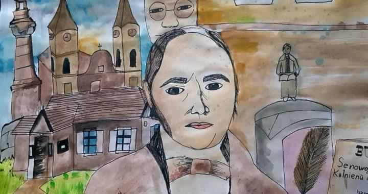 Štai šis Kretingos S. Daukanto progimnazijos mokinės Austėjos Kaulickytės piešinys pelnė I vietą.
