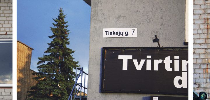 Trys įmonės skirtinguose pastatuose, bet tas pats miestas, ta pati gatvė ir namo numeris. Aisto Mendeikos nuotr.
