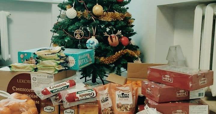 Tai tik nedidelė dalis Vydmantiškių gerumo, išsiliejusio prieš Kalėdas.