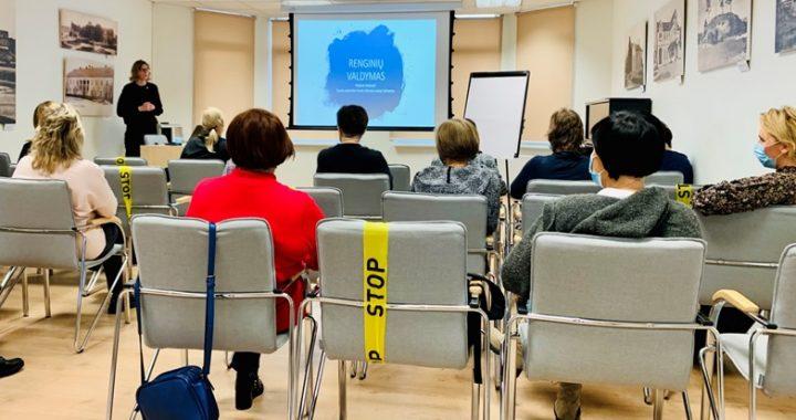Palangos bibliotekos organizuotuose mokymuose dalyvavo 70 bibliotekininkų, bet dalis užsiėmimų vyko ir nuotoliniu būdu. Organizatorių nuotr.