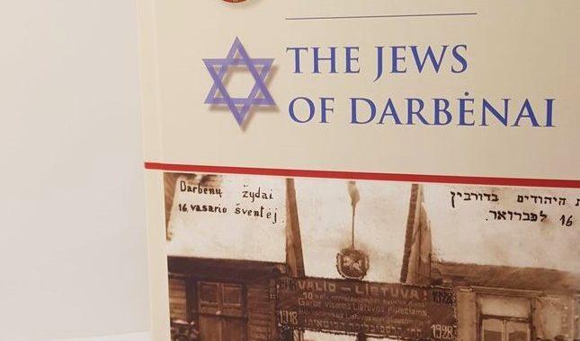 """Knyga """"Darbėnų žydai"""" skaitytojams bus pristatyta pavasarį."""