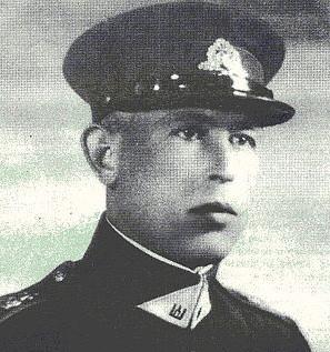 Lietuvos kariuomenės leitenantas Jurgis Ožeraitis.