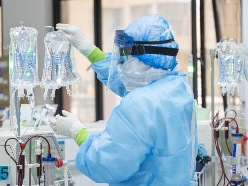 Kretingos ligoninėje gydomi 39 koronavirusu sergantys pacientai. Scanpix nuotr.