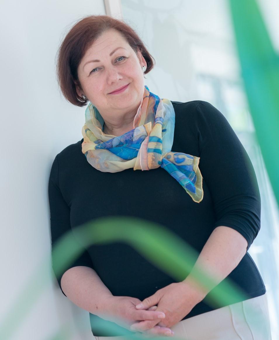 Šv. Pranciškaus Onkologijos centro direktorė Aldona Kerpytė šį šeštadienį mini šešiasdešimtmetį. Asmeninio archyvo nuotr.