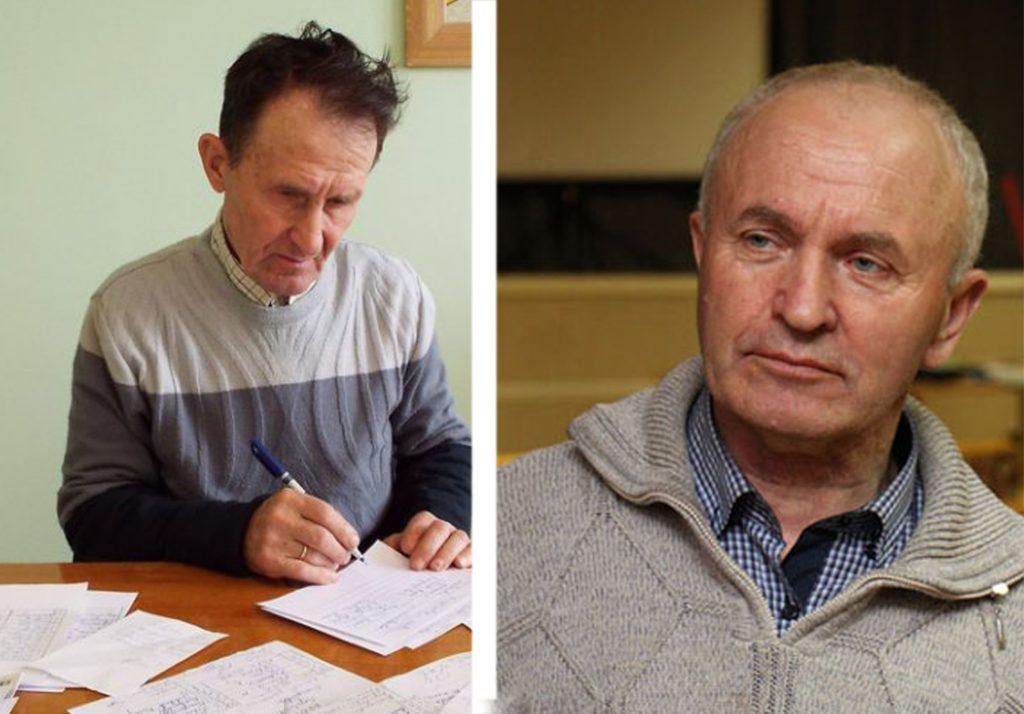 Pranas Andrijaitis ir Edvardas Tedevušas Stalmokas.
