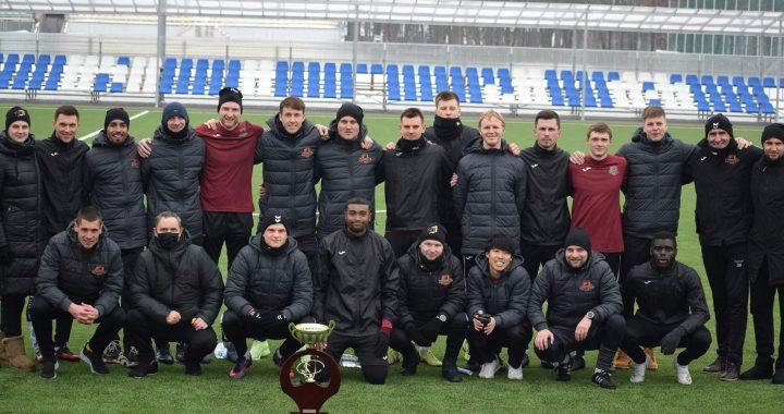 """""""Arlangos"""" taurės turnyro nugalėtojais tapo Telšių """"Džiugo"""" ekipa. """"Džiugo"""" nuotr."""