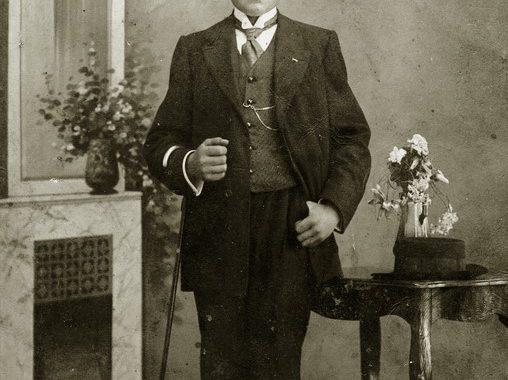 Steponas Stoukus. 1918-1919 m. Kretingos muziejaus nuotr.