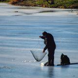Žvejyba žiemą. Asociatyvi nuotr.