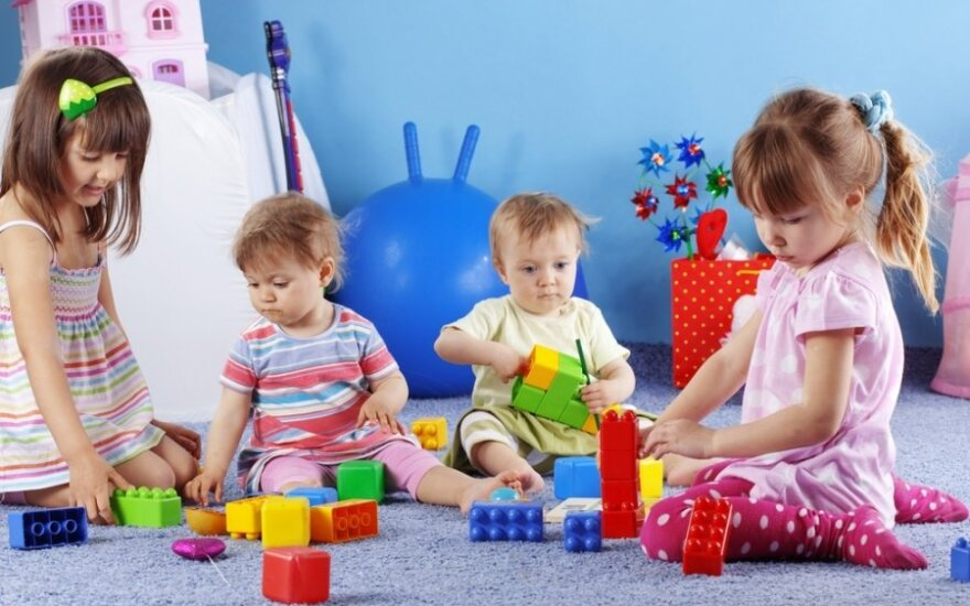 Kretinga laukia privačių ikimokyklinio ugdymo įstaigų. Shutterstock nuotr.