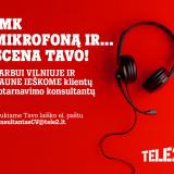 """""""Tele2"""" darbo pasiūlymai: ieškome klientų aptarnavimo konsultantų Vilniuje ir Kaune"""