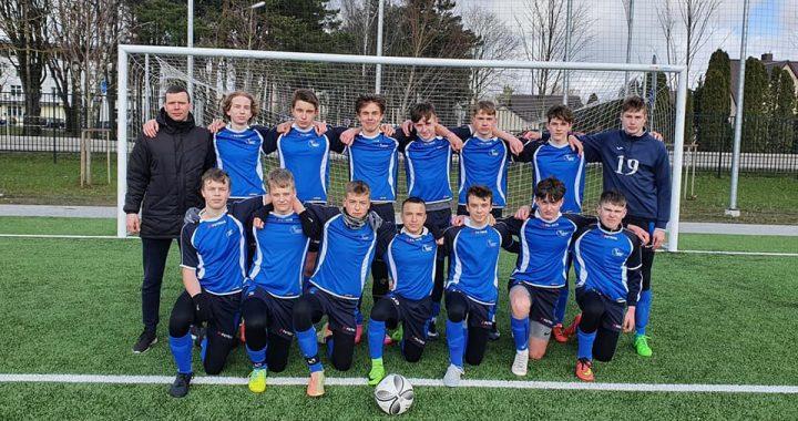 Kretingos sporto mokyklos 2005 m.  futbolininkai.