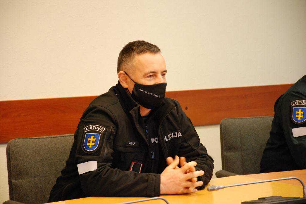 Generalinis komisaras Renatas Požėla. Aisto Mendeikos nuotr.
