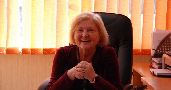 Danutė Blagnienės Socialinės paramos skyriuje dirbo 31-erius metus. Aisto Mendeikos nuotr.