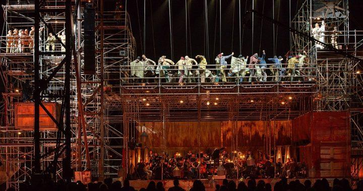 "Opera ""Skrajojantis olandas"". Martyno Aleksos nuotr."