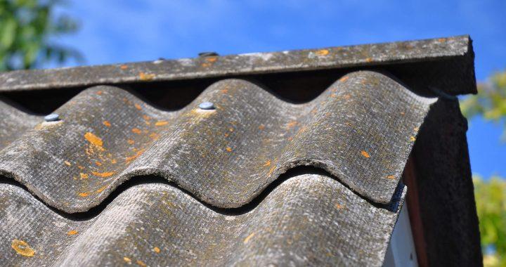 asbesto stogas