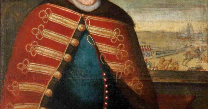 Jono Karolio Chodkevičiaus portretas Kretingos Viešpaties Apreiškimo Švenčiausiajai Mergelei Marijai bažnyčioje. Aliejus, XVII a. I pusė, nežinomas dailininkas.