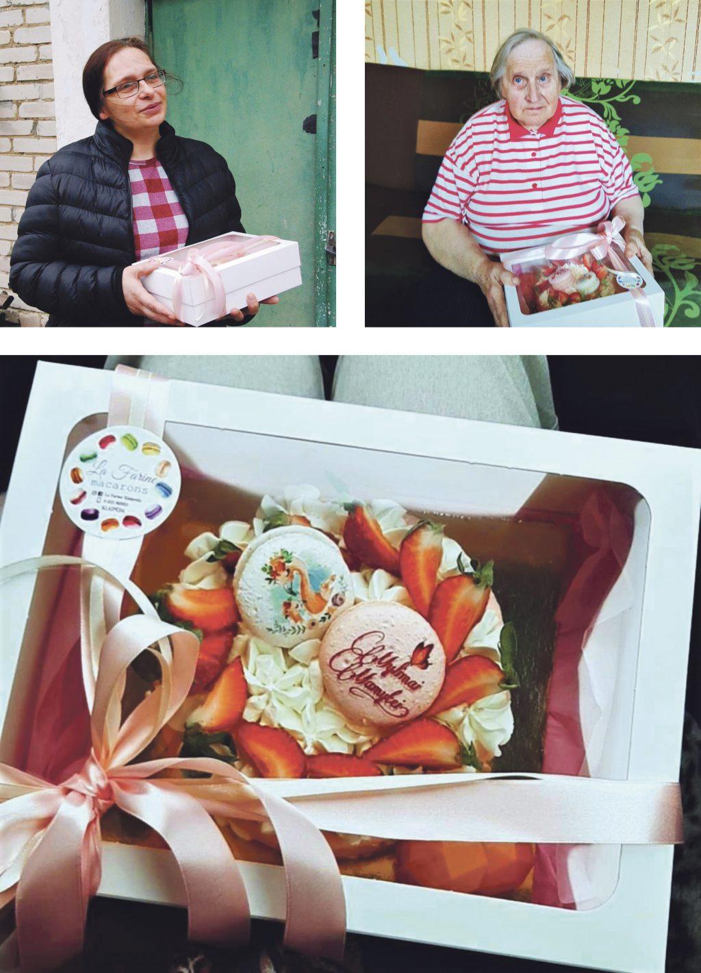 """La Farine"" tortas atiteko salantiškės Dianos mamytei Veronikai Vičiūtei."